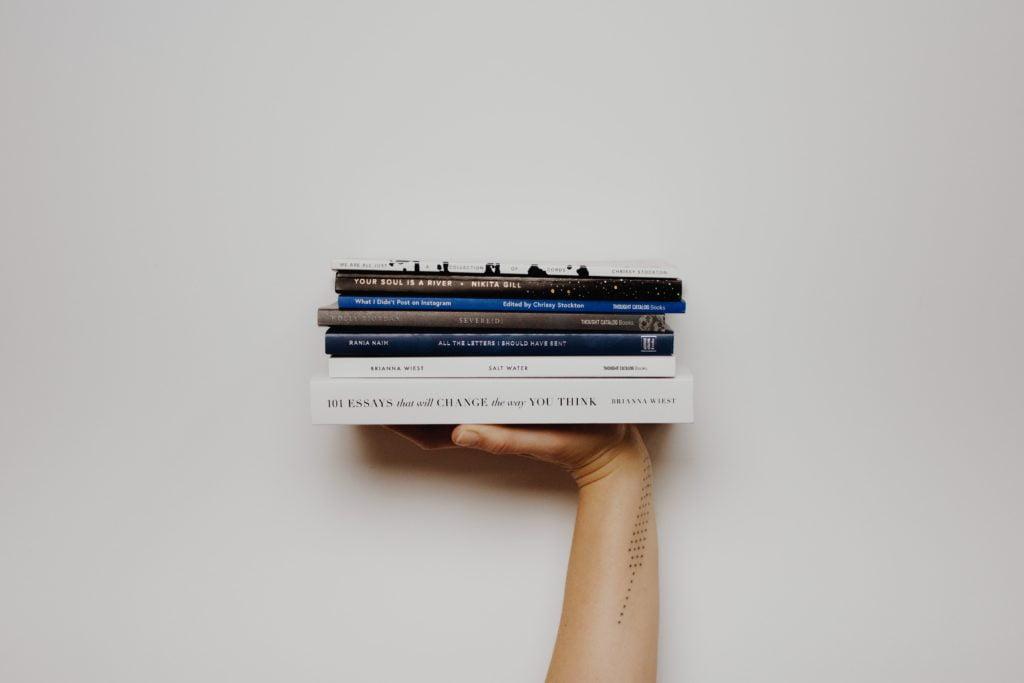 Tres libros para escapar