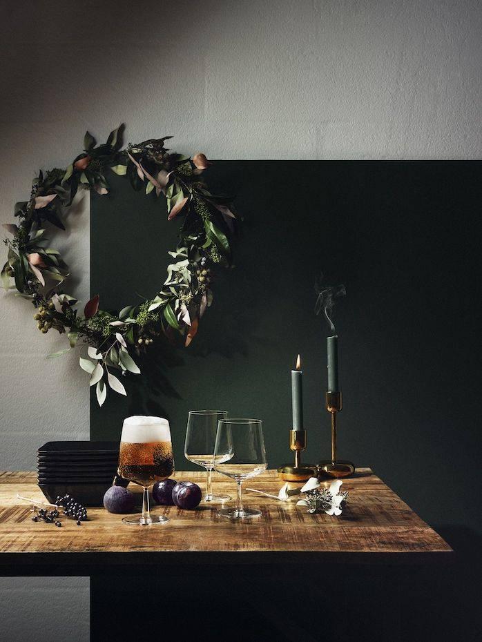 cinco claves para decorar tu mesa en Navidad