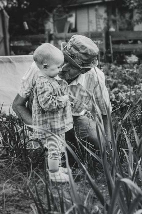Los abuelos, sus nietos y el verano